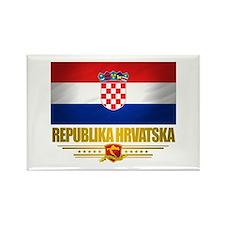 """Croatia Pride"" Rectangle Magnet"