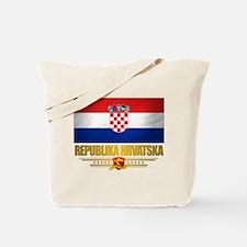 """""""Croatia Pride"""" Tote Bag"""