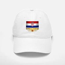 """""""Croatia Pride"""" Baseball Baseball Cap"""