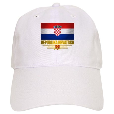 """Croatia Pride"" Cap"