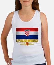 """Croatia Pride"" Women's Tank Top"