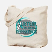 Cervical Cancer Support Tote Bag