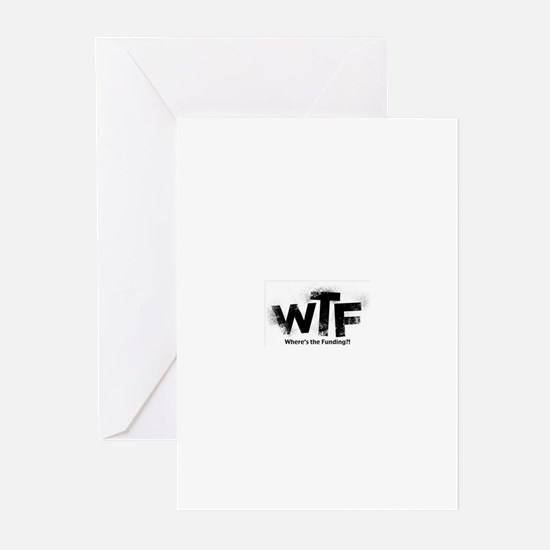 Funny Wtf Greeting Cards (Pk of 20)