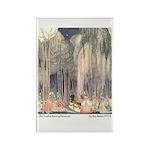 Nielsen's Dancing Princesses Rectangle Magnet (10