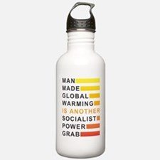 Socialist Power Grab Water Bottle