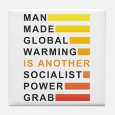 Socialist Power Grab Tile Coaster