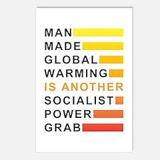 Socialist Power Grab Postcards (Package of 8)