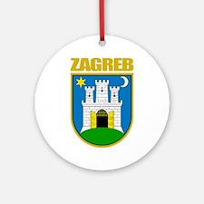 Zagreb Ornament (Round)