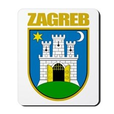 Zagreb Mousepad