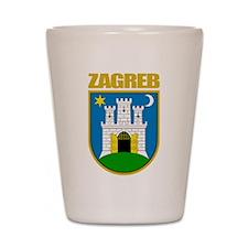 Zagreb Shot Glass