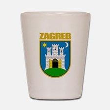 Zagreb Shot Glass