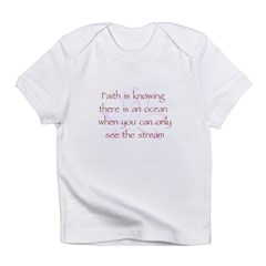Faith is Knowing V1 Infant T-Shirt