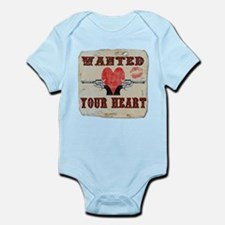 Unique Military valentines day Infant Bodysuit
