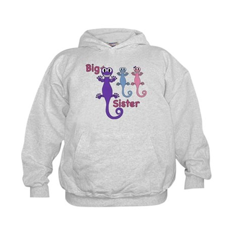 Big Sister of Twins Kids Hoodie