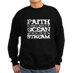 Faith is Knowing V2 Sweatshirt (dark)