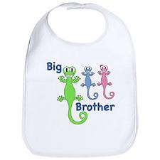 Big Brother of Twins Bib