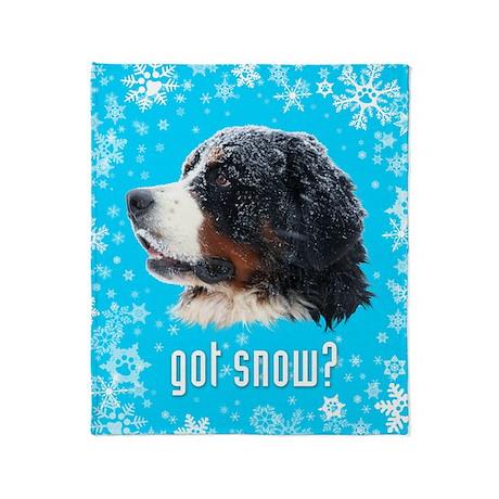 got snow? Throw Blanket