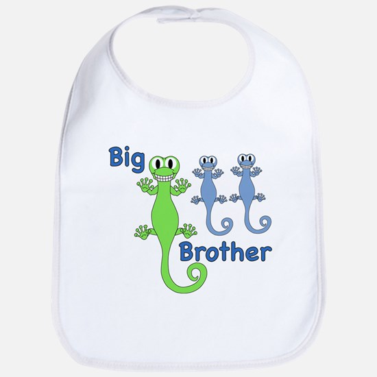 Big Brother of Twin Boys Bib
