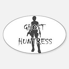 Ghost Huntress Sticker (Oval)