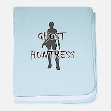 Ghost Huntress baby blanket