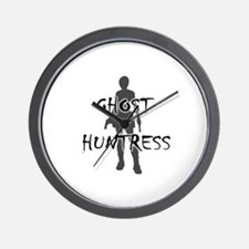 Ghost Huntress Wall Clock