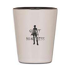 Ghost Huntress Shot Glass