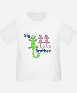 Big Brother of Twin Girls T