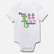 Big Brother of Twin Girls Infant Bodysuit