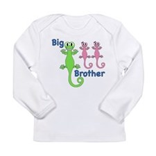 Big Brother of Twin Girls Long Sleeve Infant T-Shi