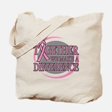 Breast Cancer Support Tote Bag