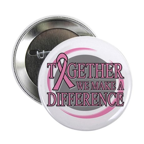 """Breast Cancer Support 2.25"""" Button (10 pack)"""