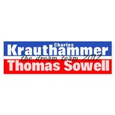 Krauthammer-Sowell Stickers