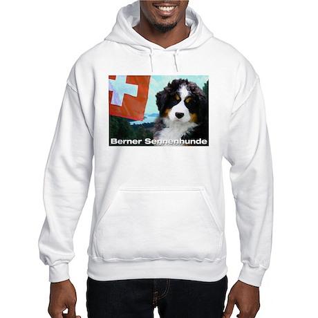 Berner Sennenhunde Hooded Sweatshirt