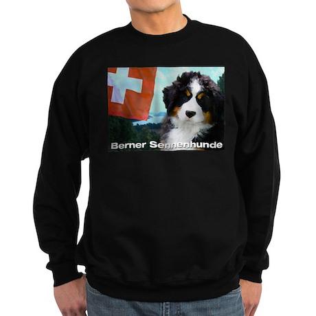 Berner Sennenhunde Sweatshirt (dark)