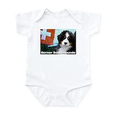 Berner Sennenhunde Infant Bodysuit