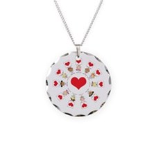 Hearts Around The World Necklace