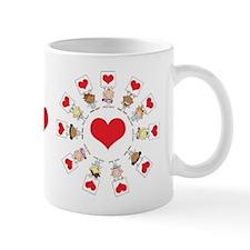 Hearts Around The World Mug