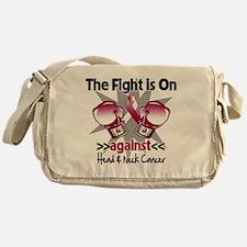 Fight Head Neck Cancer Messenger Bag
