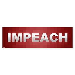 Impeach Sticker (Bumper)