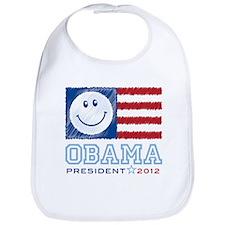Obama Smiles 2012 Bib