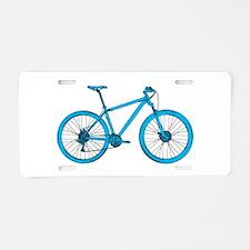 Unique Biking Aluminum License Plate