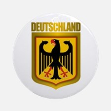 """Deutschland Gold"" Ornament (Round)"