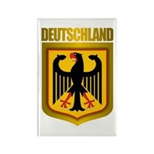 """Deutschland Gold"" Rectangle Magnet"
