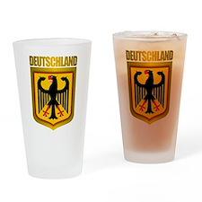 """""""Deutschland Gold"""" Drinking Glass"""