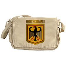 """Deutschland Gold"" Messenger Bag"