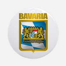 """Bavarian Gold"" Ornament (Round)"