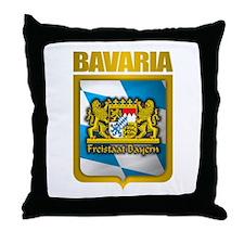 """Bavarian Gold"" Throw Pillow"