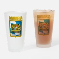 """Bavarian Gold"" Drinking Glass"