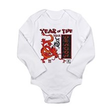 Chinese Year of the Dragon Long Sleeve Infant Body