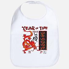 Chinese Year of the Dragon Bib
